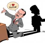 Karikatür – Erdoğan'ın Filistin sevgisi…