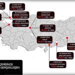 Son 1 yıl içinde Türkiye'de gerçekleştirilen saldırılar…