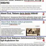 Ahmet Özal'ın babasını kim öldürdü?