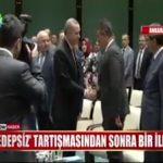 Video – Recep Tayyip Erdoğan edepsiz dediği Metin Feyzioğlu ile birlikte…
