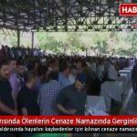 """Video – Gaziantep'de katledilenler cenazesinde """"Katil Erdoğan"""" sloganları atıldı"""