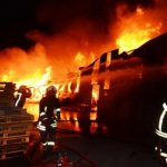Konya'da palet fabrikasında yangın çıktı