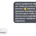 Sitemizdeki Şevki Yılmaz'ın Fethullah Gülen'i öven yazısını kaldırmadık!