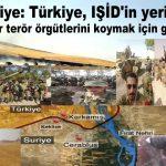 Suriye: Türkiye, IŞİD'in yerine diğer terör örgütlerini koymak için girdi