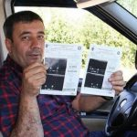 135 saniyede 600 lira trafik cezası yedi