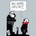 Karikatür – Ben hakimim hırsız bey…