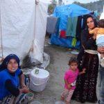 Mevsimlik tarım işçileri ilkel çadırlarda sağlıksız koşullarda yaşıyor