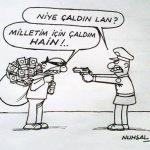 Karikatür – Çalanın savunması…