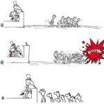 Karikatür – İlgi azalınca…
