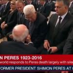 Mahmud Abbas, Şimon Peres'in cenazesine katılarak hainliğini bir kez daha ispat etti