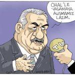 Karikatür – AKP Genel Başkan Yardımcısı: 3 ay yetmiyorsa OHAL uzatılır