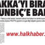Türkiye ve ABD'nin Rakka harekatı PKK/PYD güçlerini güvence altına alacak