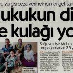 Sağır ve dilsiz Mehmet İlhan propagandadan 3,5 yıl yattı