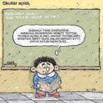 Karikatür – Tatilde neler yaptık?