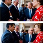 Video – Hollanda'da Türk asıllı milletvekili Tunahan Kuzu, korsan İsrail başbakanı'nın elini sıkmadı