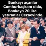 Bankayı açanlar cumhurbaşkanı oldu, para yatıranlar cezaevinde!