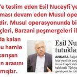 Vatan haini Esil Nuceyfi'ye tutuklama kararı çıkarıldı
