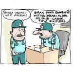 Karikatür – İktidar mitinglerinde polisleri dolgu malzemesi olarak kullanıyor