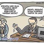 Karikatür – Siyah Kurdele…
