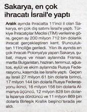 sakarya-israil-ihracat