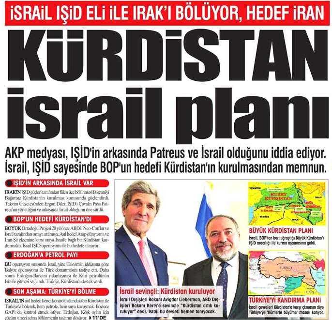 kurdistan-israil