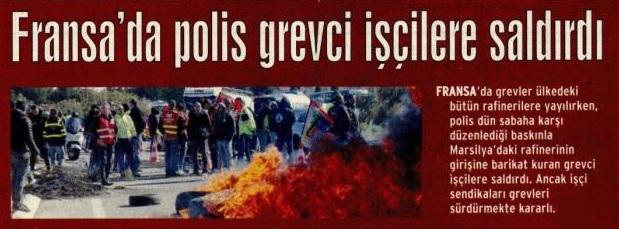 fransada-polis-grevci-iscilere-saldirdi