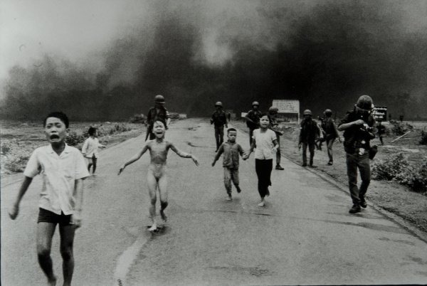 """Nick Ut, a photographer with The Associated Press in Los Angeles, won the Pulitzer Prize for Spot News Photography in 1973 for the photograph of 9-year-old Kim Phuc running along a road with other children following a napalm strike on the village of Trang Bang, 25 miles west of Saigon, Vietnam. The photograph was titled, """"The Terror of War."""" It was 40 years ago on June 8th that the photograph was taken in Vietnam by Ut. /// ADDITIONAL INFORMATION: 5/21/12 - Nick Ut, The Associated Press - nickut -"""